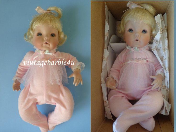 Ashton Drake Sugar Plum Porcelain Baby Doll in Original Box NEW