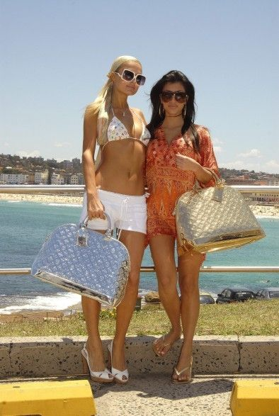 kim kardashian and paris hilton in bikinis - Google Search