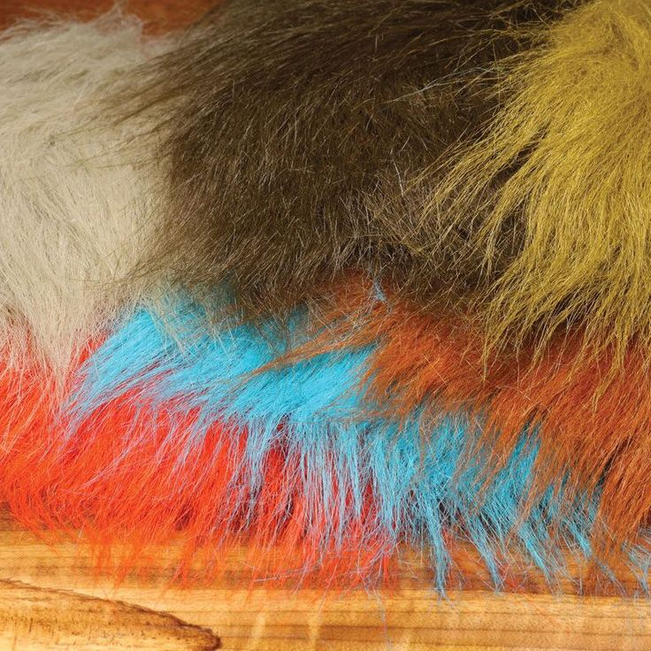 EXTRA SELECT CRAFT FUR Fly Tying Synthetic Hair Wing Streamer Jig Material NEW! #flytying #flyfishing