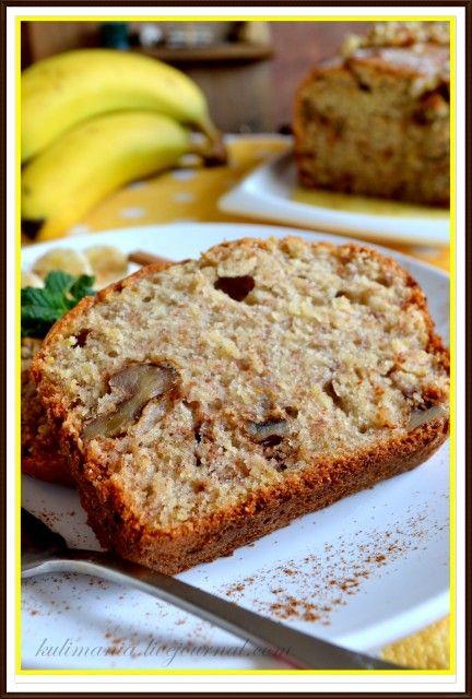 Банановый хлеб с грецкими орехами (Banana Bread) -