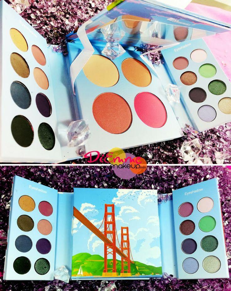Il mio piccolo scrigno BH San Francisco Eyeshadow & Blush Palette ~ Diemmemakeup