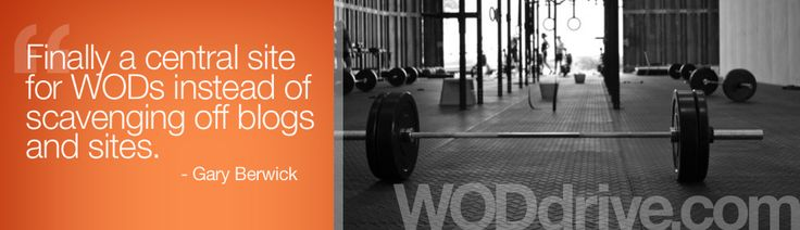 Free CrossFit Workout Database, Lists, and WOD Generator | WODdrive.com