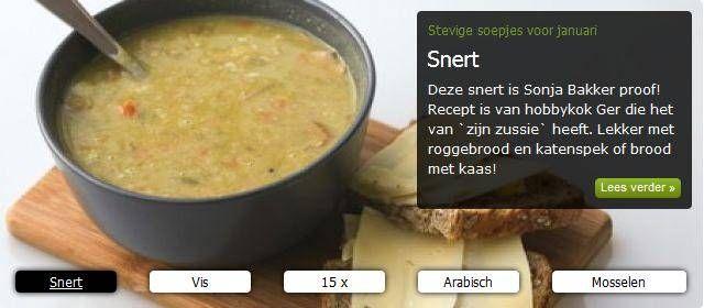Heerlijke Erwtensoep / Snert ( Sonja Bakker Proof ) recept | Smulweb.nl
