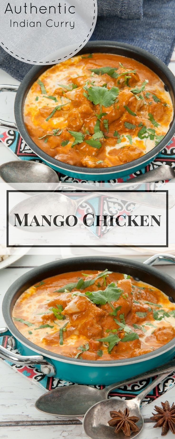 Mango Chicken is a deliciously simple family favourite Indian Curry.
