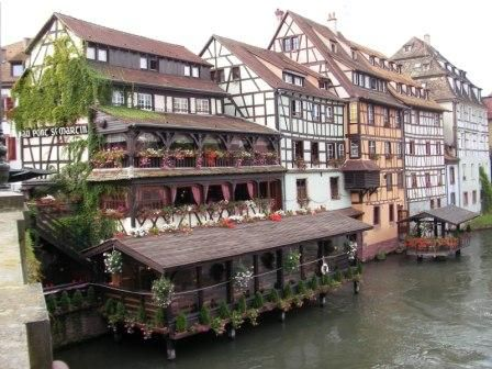 Strasbourg, France (but say it with a very German accent!!!)