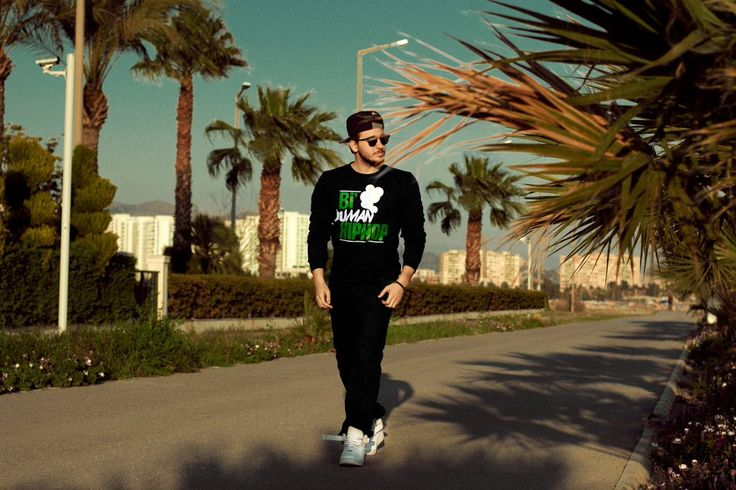 Anıl Piyancı - Bi' Duman Hiphop Tshirt Version Siyah hollyhood.com.tr