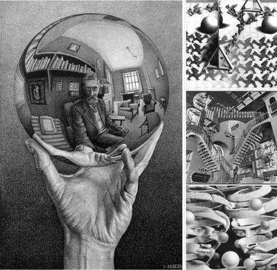 Maurits Cornelis Escher - fino al 18 luglio a Palazzo Albergati, Bologna