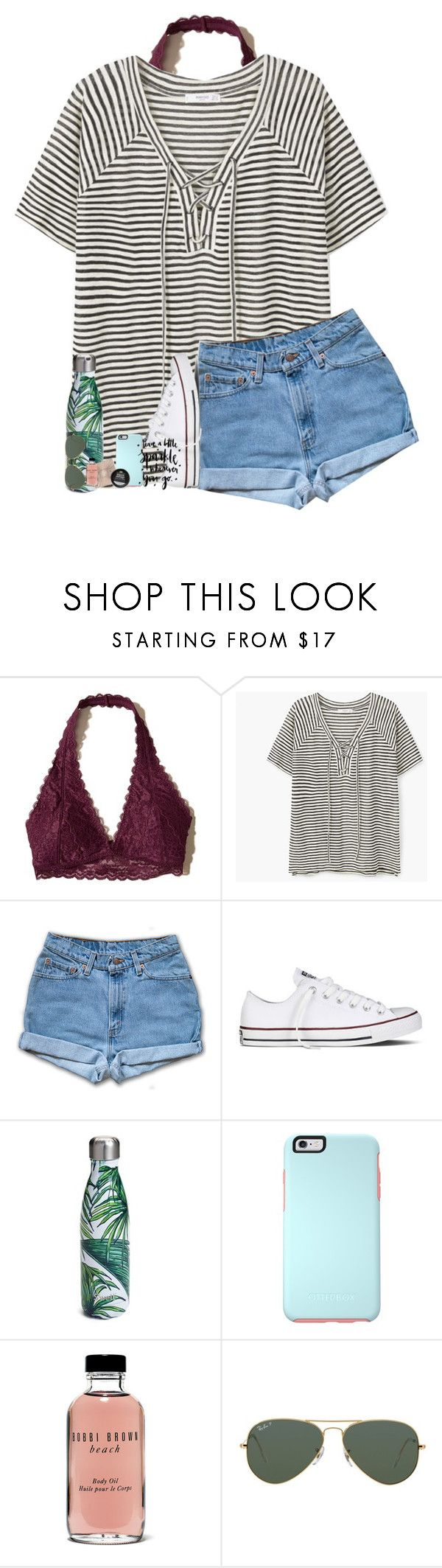 my triller videos are cringe:) by southernmermaid ❤ liked on Polyvore featuring Hollister Co., MANGO, Converse, Swell, Urban Decay, OtterBox, Bobbi Brown Cosmetics and Ray-Ban