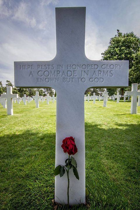 American Military Cemetery in Normandy. Photo: Brian Stewart.