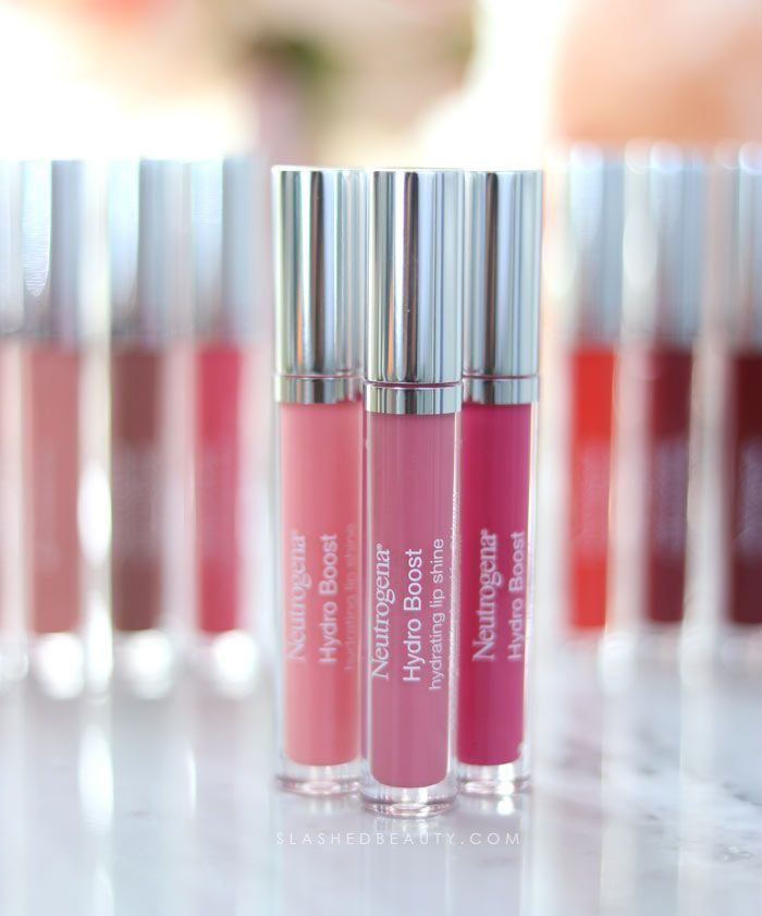 Best Lip Color for Dry Lips: Neutrogena Hydro Boost Hydrating Lip Shines