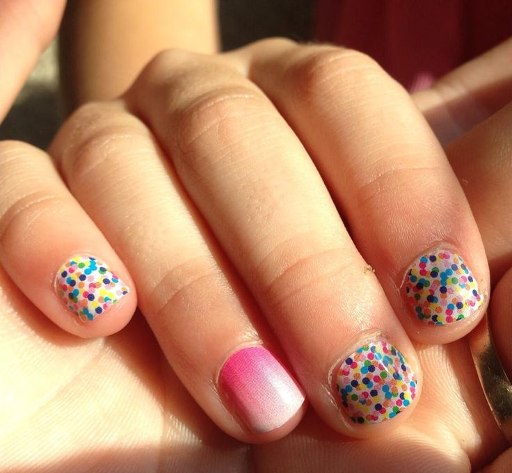 Sprinkles & Icing Jamberry Juniors nail wraps!