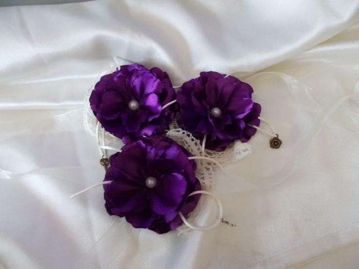 Corsaje domnisoare de onoare | Nunta si Botez Bibihandmade pe Breslo