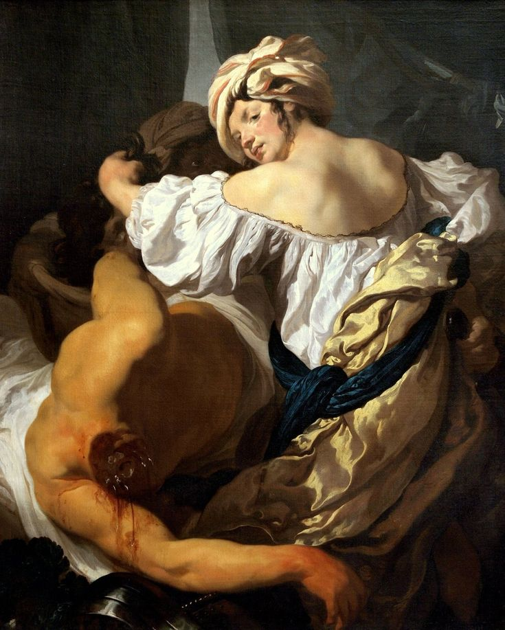 Johann Liss: Judith in the Tent of Holofernes, c. 1622.