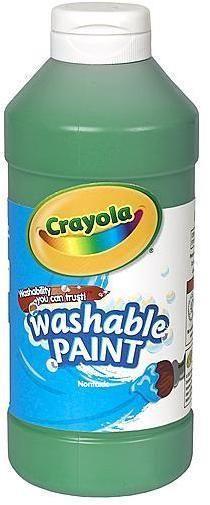 Crayola Washable Paint (Green)
