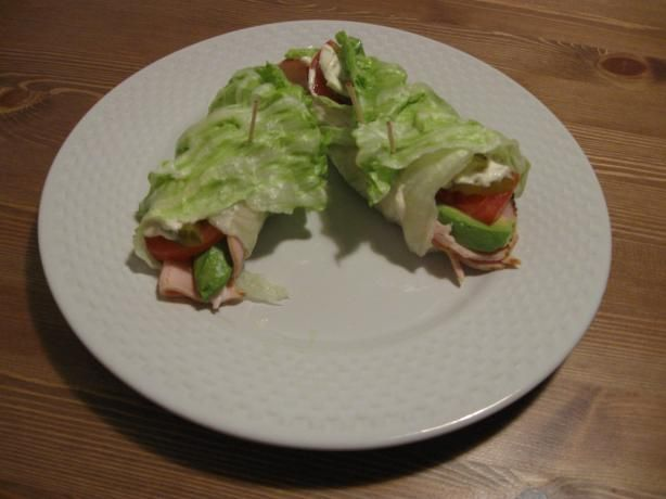 California Lettuce Wrap - South Beach Diet from Food.com:  Phase 1  								Phase 1 recipe from the South Beach Diet Cookbook