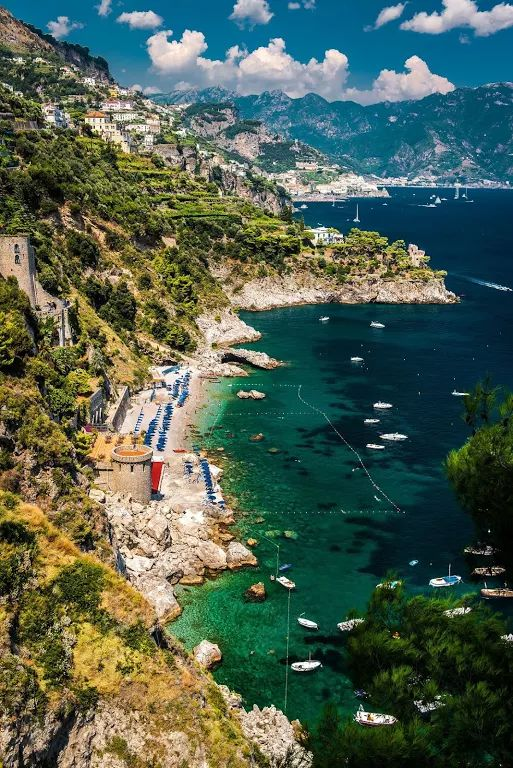 Photo: Amalfi Coast, Italy  Maybe it's the sweeping romance of the Tuscan…