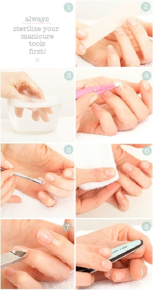 How To Do Manicure At Home: A 8-Step Manicure Tutorial For Beginners