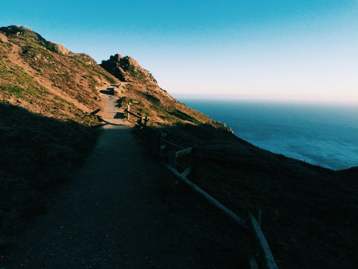 Trail at Point Reyes