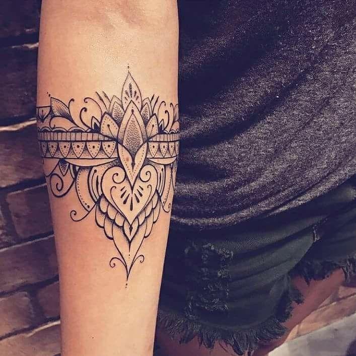 Si sensationnel # # #mandalas # détails #tattoodesign #arm   – Fußring