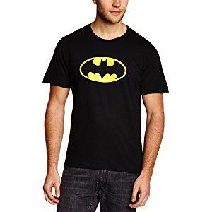 DC COMICS Men's Batman Logo Short Sleeve T-Shirt