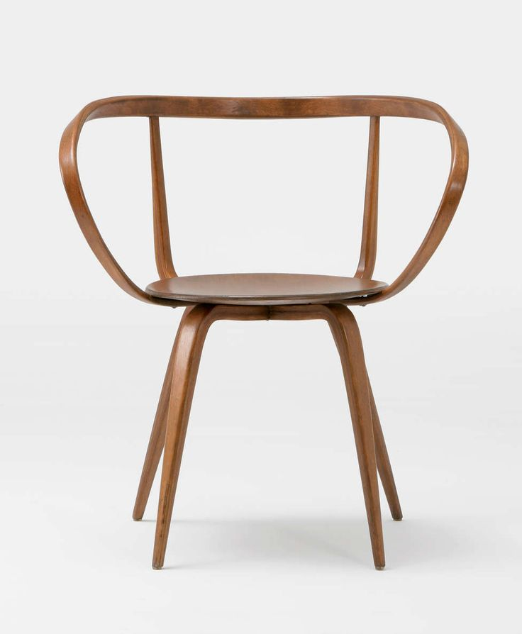George Nelson | Pretzel Chair, 1952 | Laminated bentwood | Front