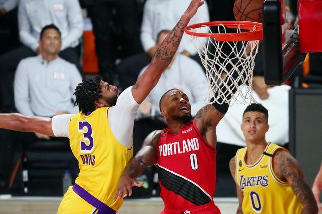 Los Angeles Lakers At Portland Trail Blazers 8 22 20 Nba Picks And Prediction In 2020 Portland Trailblazers Los Angeles Lakers Lebron James