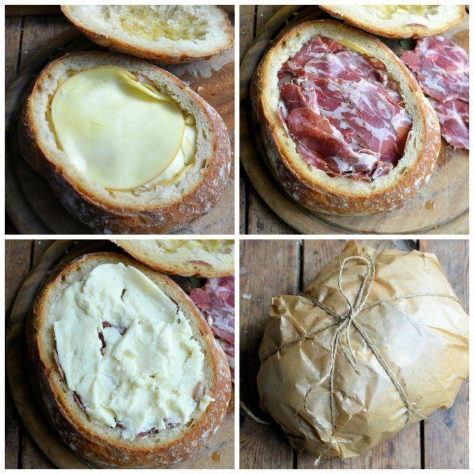Lavender and Lovage | The New Orleans Muffuletta Sandwich | http://www.lavenderandlovage.com