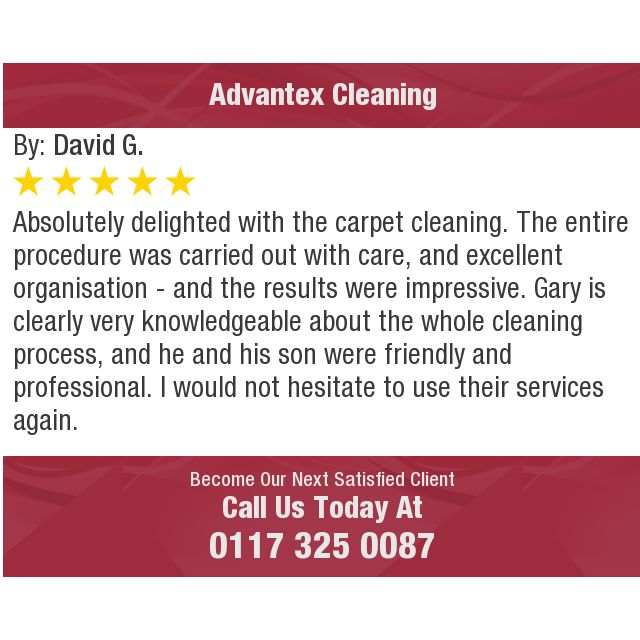 Absolutely delighted with the carpet cleaning. The entire procedure was carried out with...
