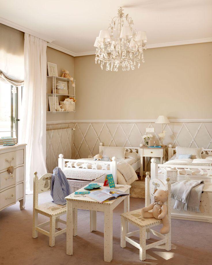 Las 25 mejores ideas sobre habitaciones compartidas para - El mueble decoracion dormitorios ...