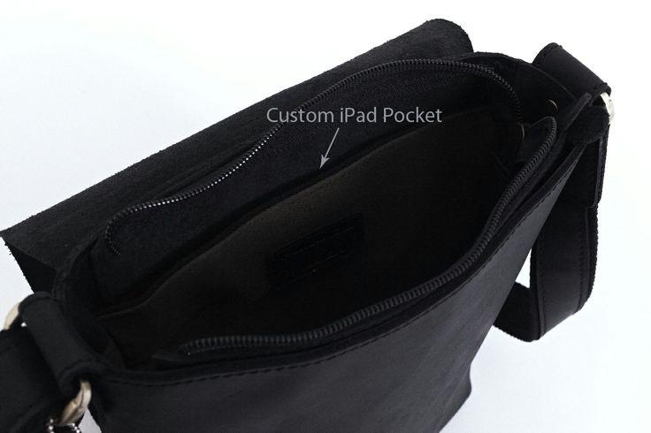 Custom iPad Pocket