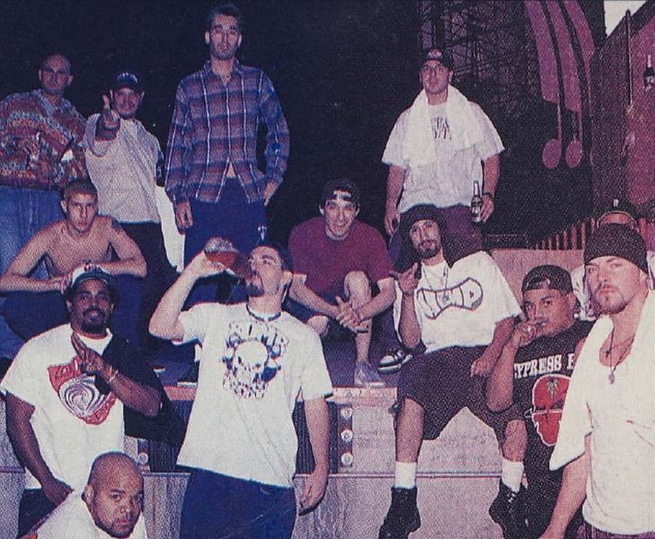Beastie boys & Cypress hill