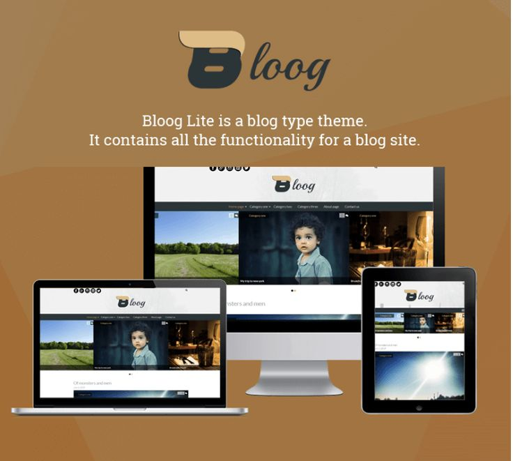 Bloog Lite is a  free WordPress blog theme designed beautifully with all features and functionality to build a complete and perfect blog website.