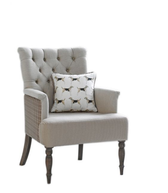 Chairs - Hound Chair Special   just fabrics  65cm wide, 70cm deep
