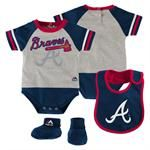Atlanta Braves Baby Outfit