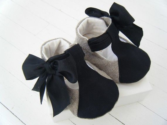These are by far the cutest baby shoes, ever.  The end.