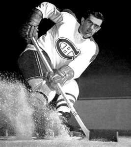 "Sports History - Deaths 2000 - Joseph Henri Maurice ""The Rocket"" Richard was a French-Canadian professional ice hockey player who played for the Montreal Canadiens of the National Hockey League from 1942 to 1960. Richard died of abdominal cancer although being long retired by the time of his death.  keepinitrealsports.tumblr.com  keepinitrealsports.wordpress.com"