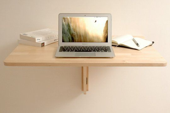 Work from home, but limited on space? The Ultra-Compact DIY $47 IKEA Standing Laptop Desk Could Be Your Dream Come True! | Tiny Homes