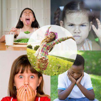 Las emociones básicas de los niños.