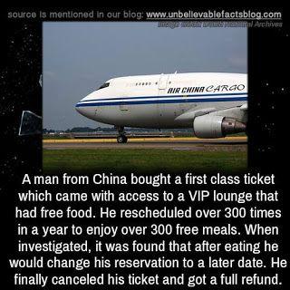Marketing Tips: Εφαγε δωρεάν 300 γεύματα στην αίθουσα VIP του αερο...