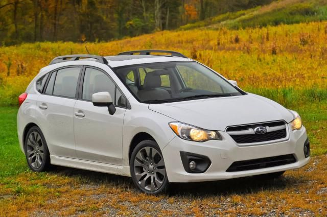 10 Small Cars You Can Live With: Small and bad-weather-friendly: Subaru Impreza