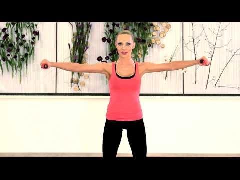 Exercitiu pentru piept si spate (LadyFit Home Edition DVD)