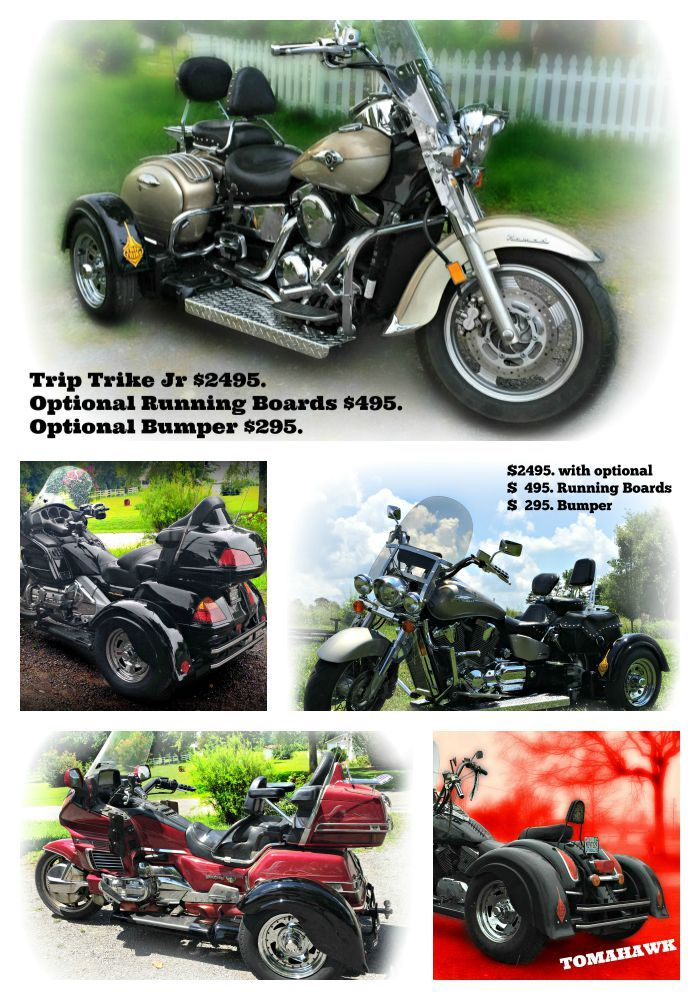 Check us out for the smoothest ride! Trike kits for sale