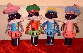 Voor de knutsel experts onder ons, deze supercoole pieten. Kan jij ze maken? #knutselen #sinterklaas #DIY #kinderen #kids #doe-het-zelf