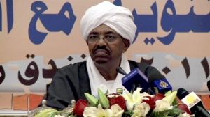 this is omar al-bashir sudans president/dictator.
