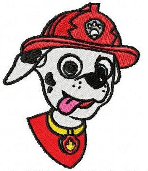 Instant Download Marshal Paw Patrol Embroidery Designs For Only 099 Several Formats Available