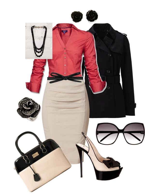 """""""Office Time"""" by maryfer99 on Polyvore"""