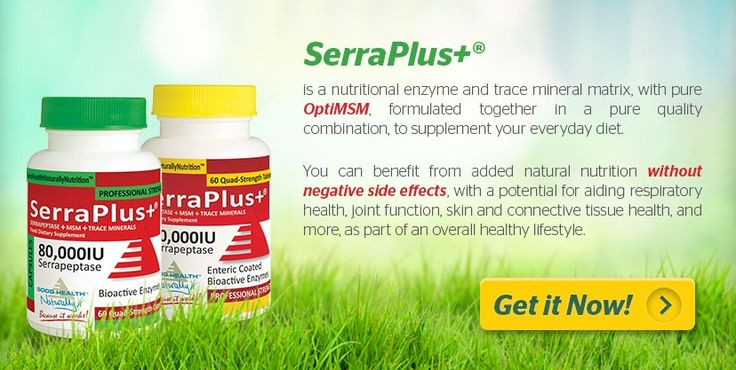 #Serraplus includes #Serrapeptase plus trace minerals & #MSM for lung, joint & tissue health. Buy 3 get 1 FREE! Free shipping over $55(USA) $50 (Canada) AU$69 (Australia)