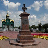 Памятник Николаю II и часовня Питирима Тамбовского. Тамбов :: MILAV V