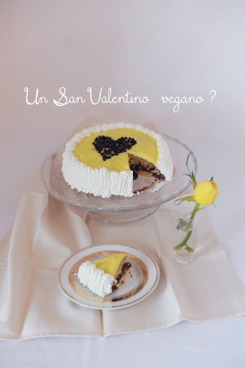 Torta Vegan di San Valentino