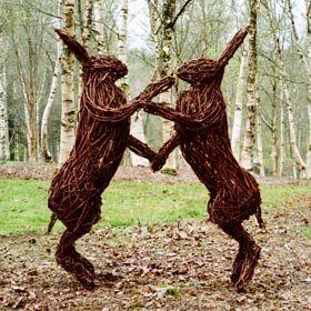 willow sculpture by Alicia Castrillo